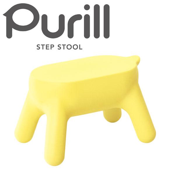 【長谷川工業】 Purill PRL1.0-1(YE)【スツール 梯子 置き台 踏み台】