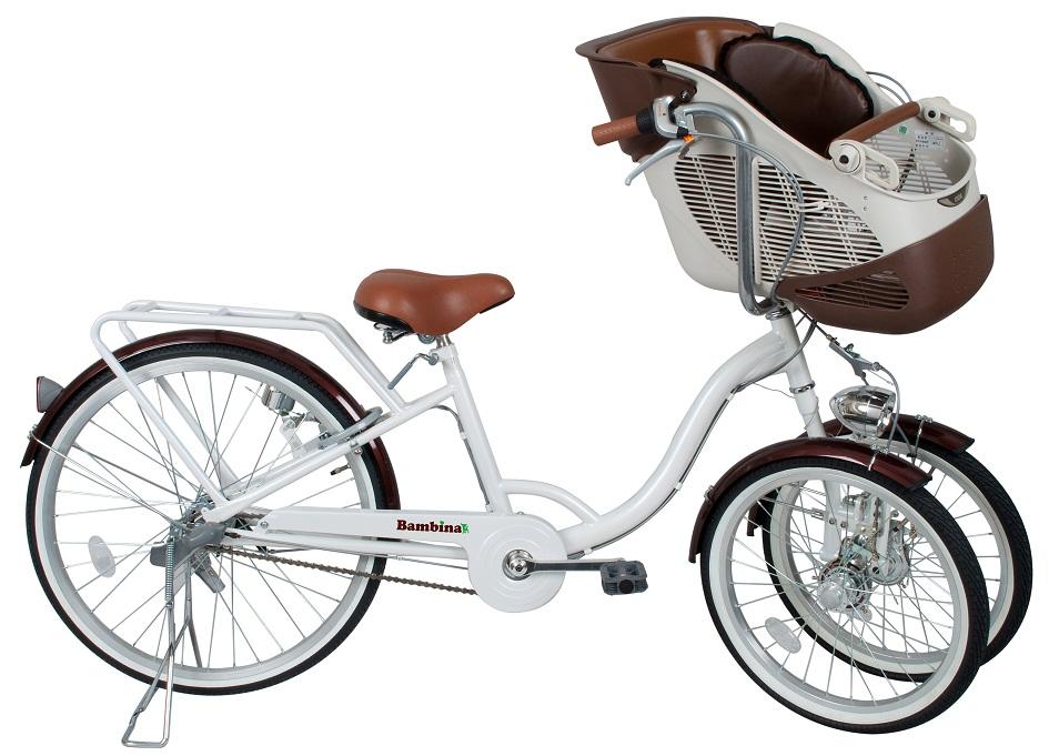 【BAA取得】ミムゴ バンビーナフロントチャイルドシート付三輪自転車 MG-CH243F【代引不可】