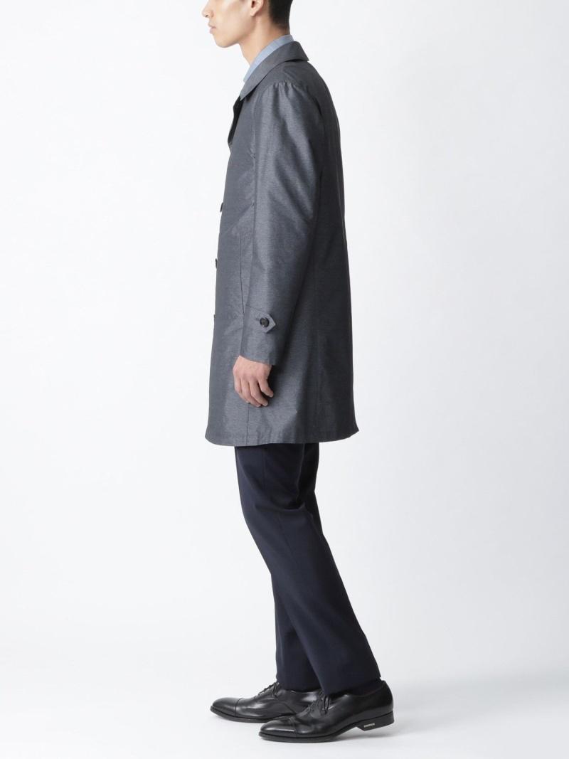 FashionSALE 23 OFF シャンブレーライトウェイトステンカラーコート BLACK LABEL CRESTBRIDGE ブルーレーベルブラックレーベル・クレストブリッジ コート ジャケット コート ジャケットその他 グレー ネイビー RBA E送料無料WCBrxdoe