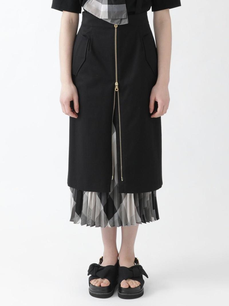 BLUE LABEL BLACK CRESTBRIDGE レディース スカート ブルーレーベル ブラックレーベル クレストブリッジ ブラック Fashion 送料無料 5WAYスカート 毎週更新 ストレッチギャバ Rakuten ミニスカート AL完売しました ネイビー ベージュ