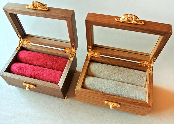指輪 ケース リングケース 木製 プロポーズ 箱 ジュエリー ボックス BOX アクセサリー【RINGcase】 指輪ケース おしゃれ