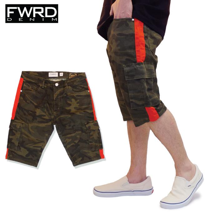 Criminal Entering Fwrd Denim Short Pants Cargo Pant Shorts Line