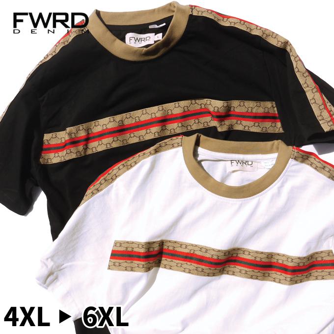 c46eac74b97 CRIMINAL  FWRD T-shirt Gucci style sampling TEE big size American ...