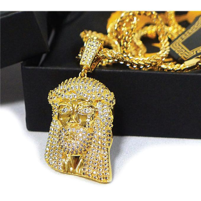 CRIMINAL Rakuten Global Market KING ICE necklace surface 14K gold