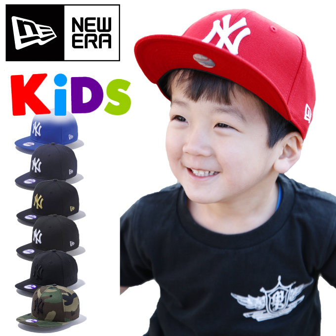 198e00bced2 NEW ERA SNAP BACK CAP New York Yankees YOUTH junior new era Snapback caps  kids size 9 FIFTY large size men s male women s elementary school baby  ladies Hat ...