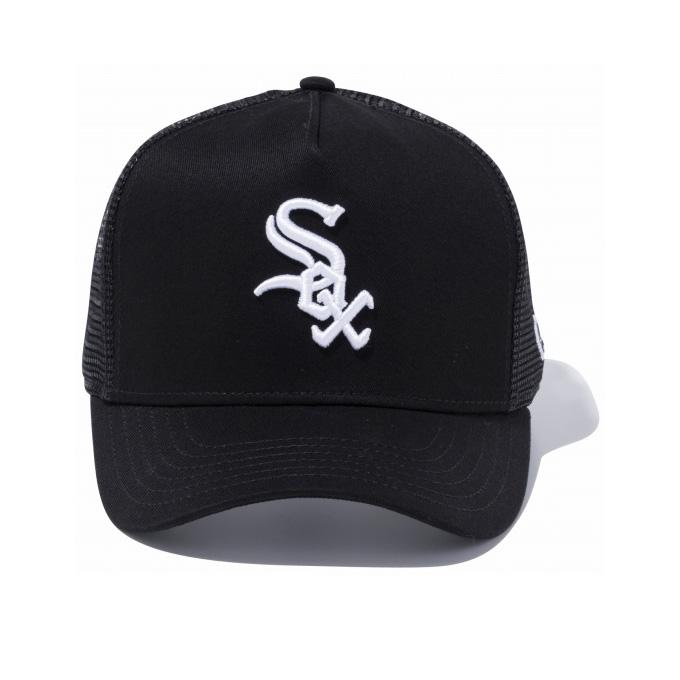 4a3d580bb New gills NEW ERA trucker mesh cap Chicago White Sox snapback cap NEWERA  CHICAGO WHITESOX 9FORTY D-Frame Trucker Mesh Cap MLB SNAPBACK CAP 940 sox  ...