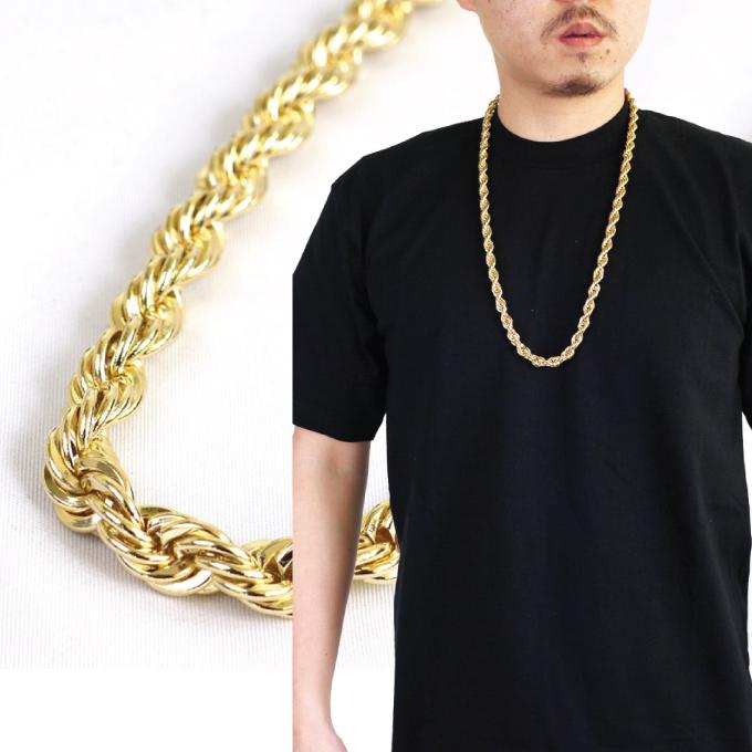 CRIMINAL  CHAIN NECKLACE necklace chain length 75 cm x width 9 mm ... 818e36aa612c