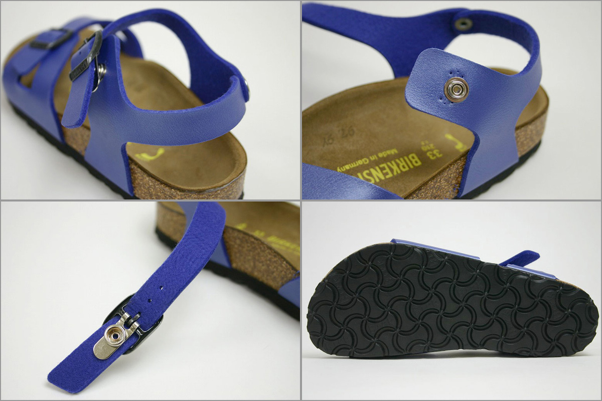 85cb4829a0d Original spec! Birkenstock kids Sandals Rio アイスパール Opal ( BIRKENSTOCK Rio  Ice Pearl Opal )