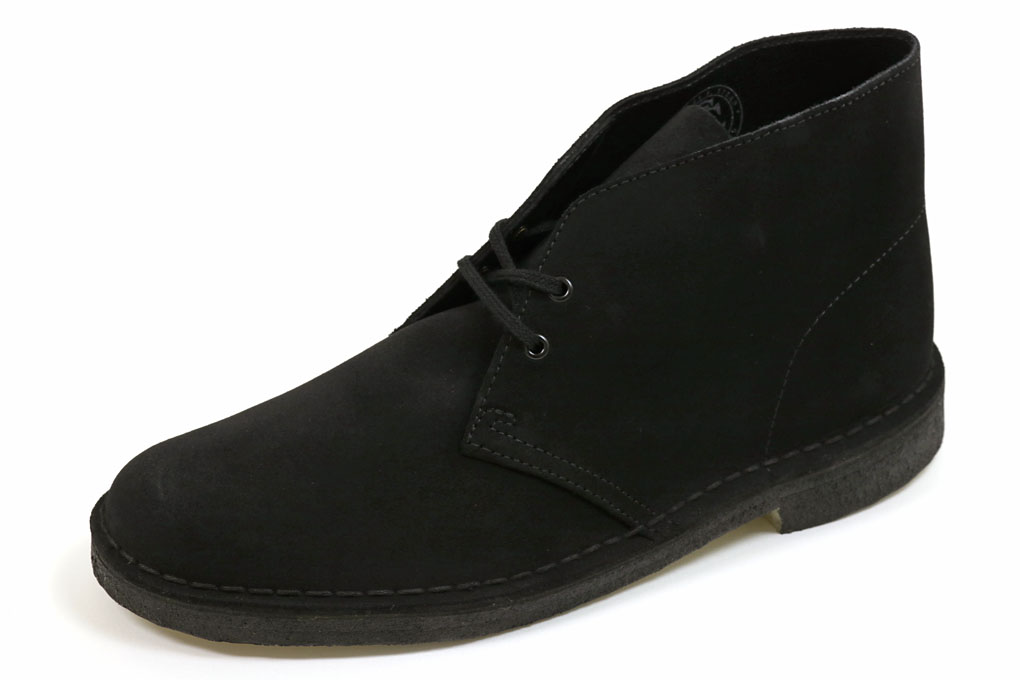 【SALE/セール対象商品】クラークス デザートブーツ ブラックスエード(Clarks Desert Boot Black Suede)