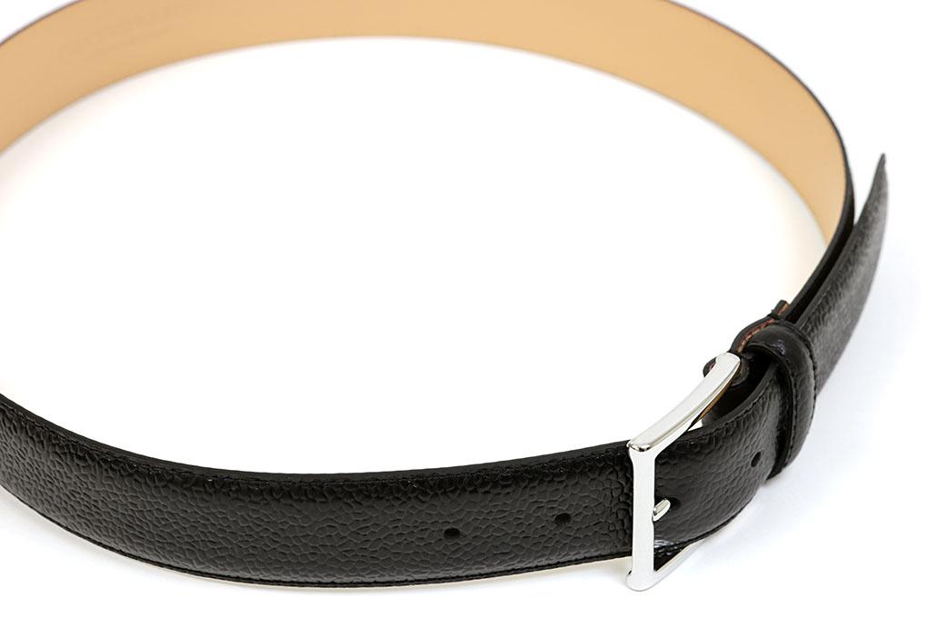 クロケット&ジョーンズ 35mm幅 レザーベルト・シルバーバックル SILVER 35mm幅 BLACK ブラックスコッチグレイン(CROCKETT&JONES 9945-92 BLACK SCOTCH GRAIN SILVER BUCKLE), GLASS-M:ff47f8b6 --- jphupkens.be
