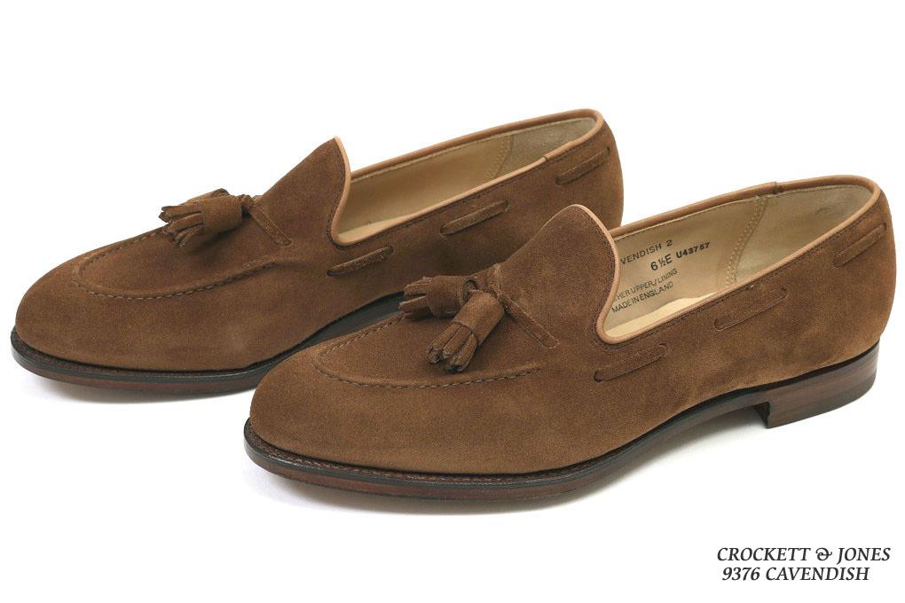e77924b799b Crockett   Jones tassel loafer Cavendish polo brown calf suede  (CROCKETT JONES CAVENDISH POLO BROWN CALF SUEDE)