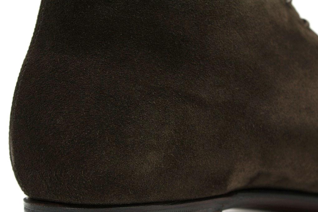 Crockett & Jones hand grade Milbank espresso CARF chukka (CROCKETT JONES MILLBANK ESPRESSO CALF SUEDE)