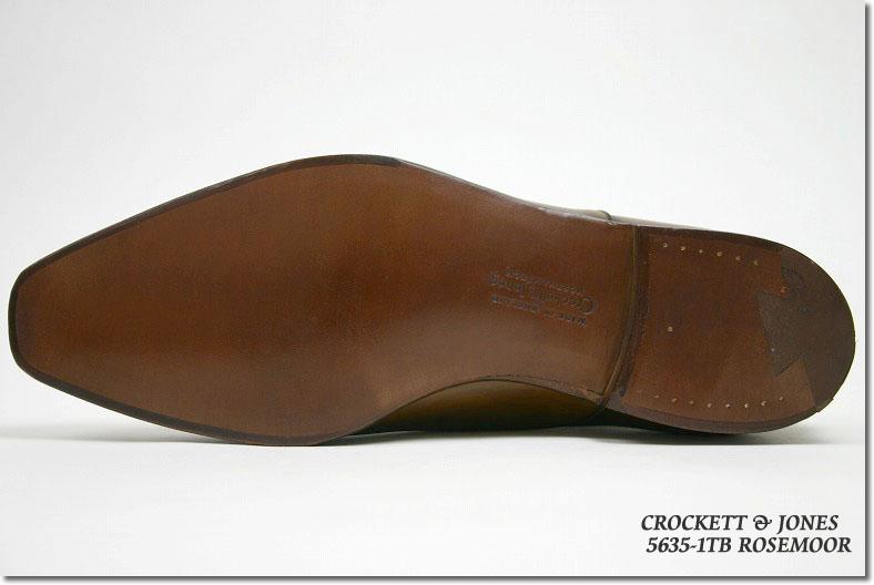 Crockett & Jones hand grade オックスフォードプレーントゥ exorcism Tan ( CROCKETT JONES ROSEMOOR TAN ANTIQUE CALF ) 10P28oct13