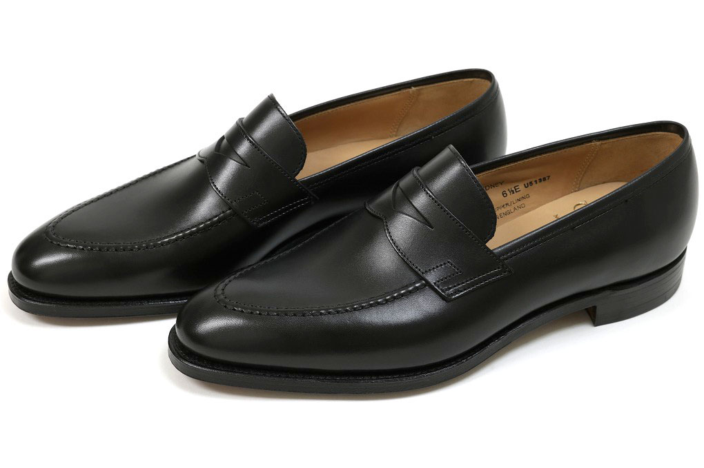 b3067c603ff Crockett   Jones loafer Sydney black calf (CROCKETT JONES SYDNEY BLACK CALF)