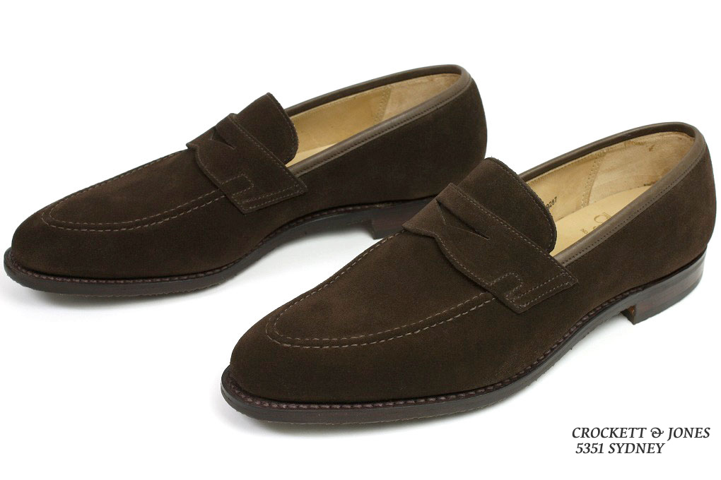 27f86beab6f Crockett   Jones loafer Sydney dark brown suede (CROCKETT JONES SYDNEY DARK  BROWN SUEDE)