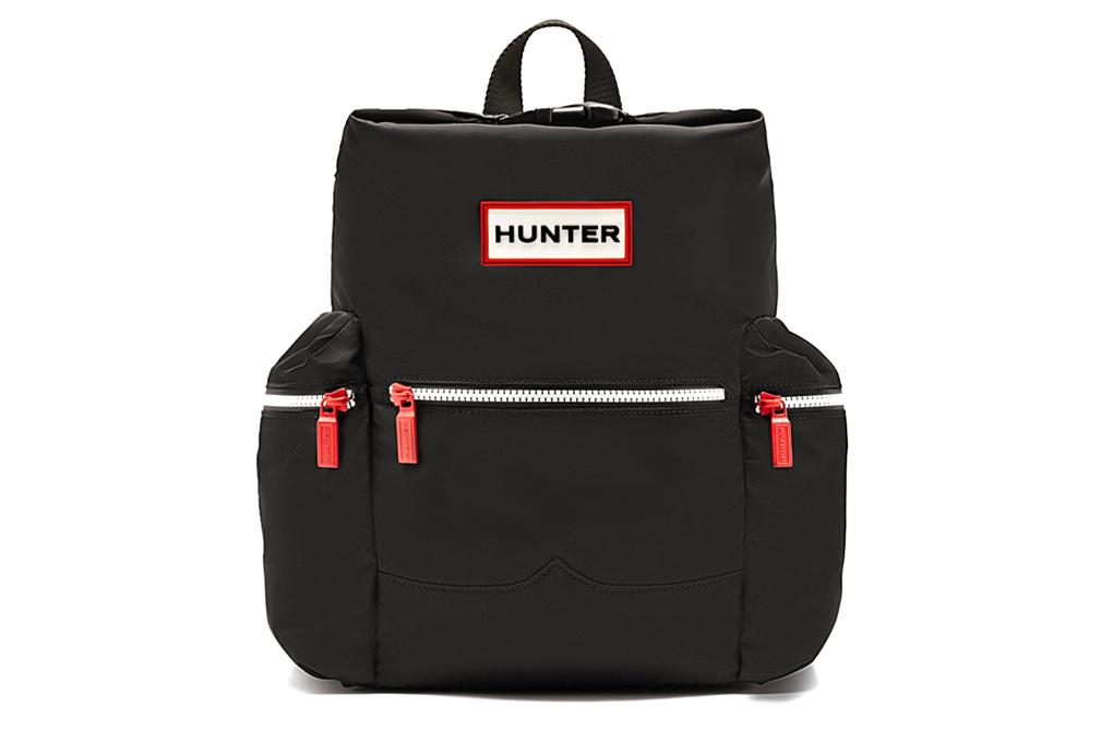 ハンター オリジナル ミニ ナイロン バックパック ブラック (HUNTER ORIGINAL NYLON BACKPACK UBB6018ACD BLACK)
