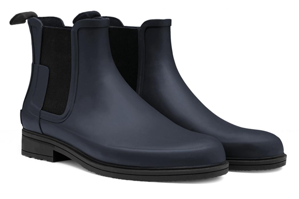mens chelsea rain boots