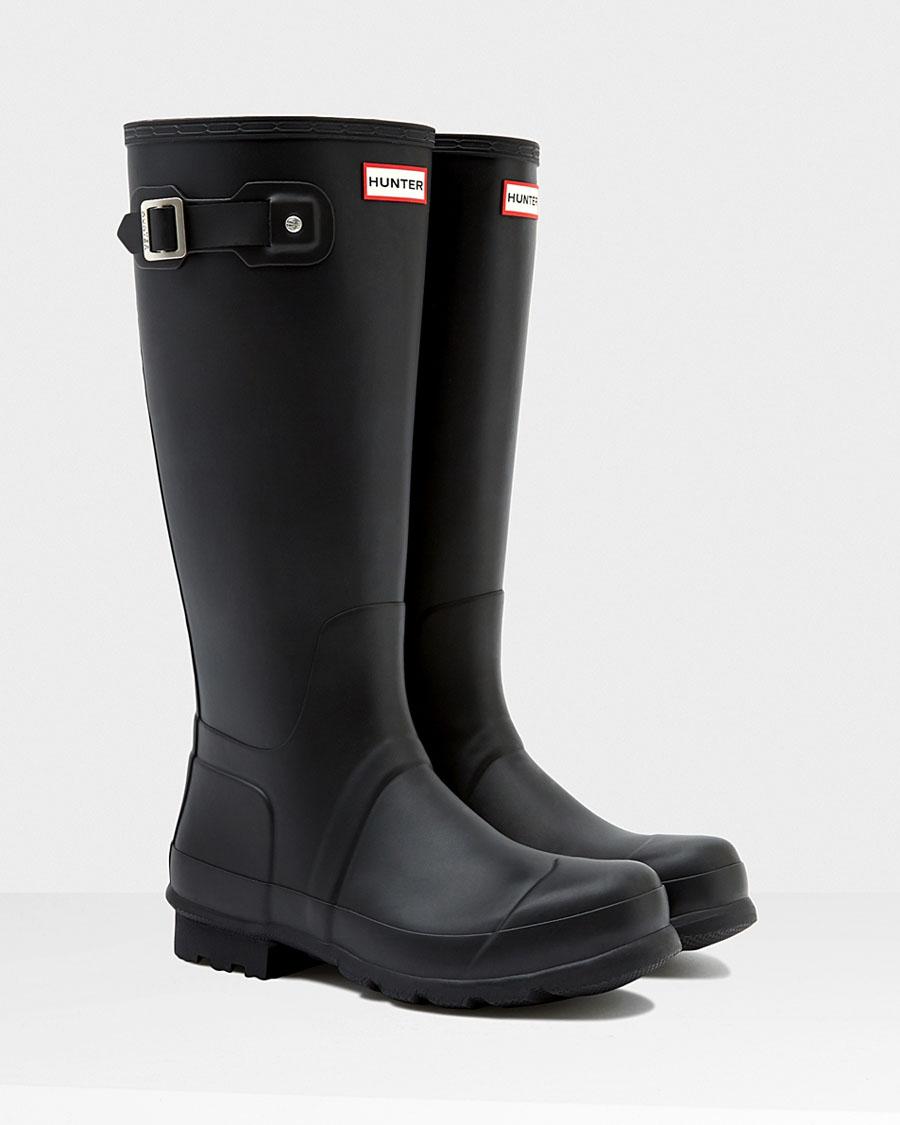 a9eadf2fcec Hunter rain boots men original Thor black (HUNTER MENS ORIGINAL TALL  MFT9000RMA BLACK)