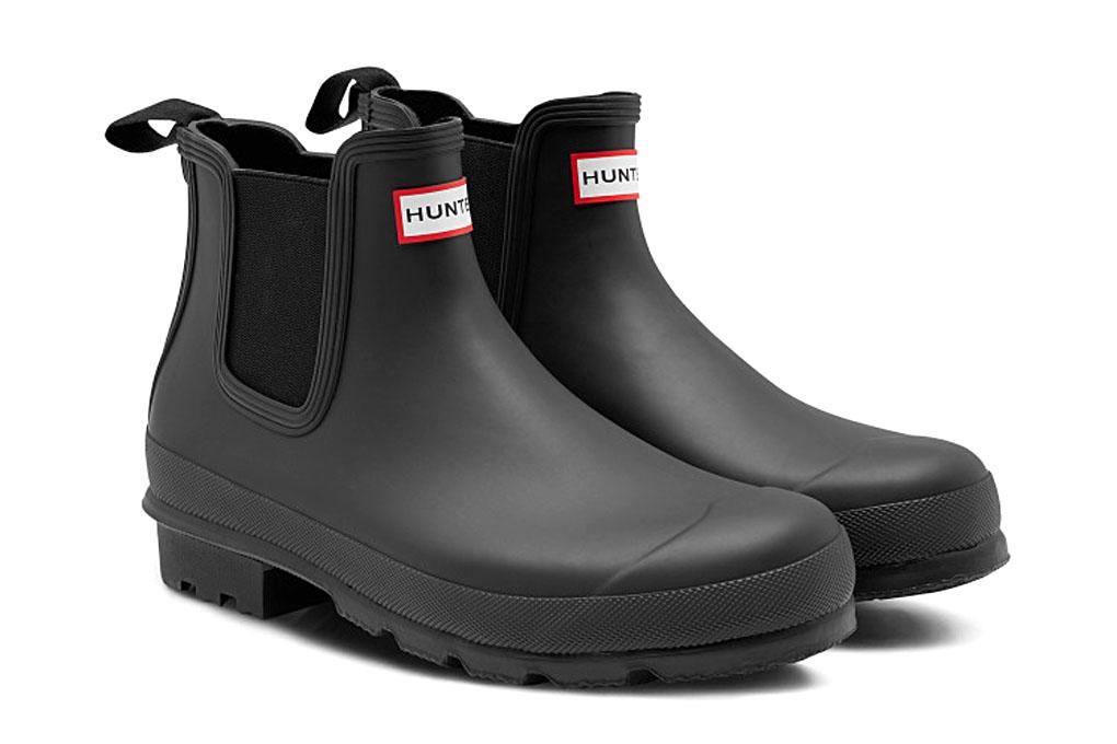 Hunter men original Chelsea boot black (HUNTER MENS ORIGINAL CHELSEA BOOTS MFS9075RMA BLACK)