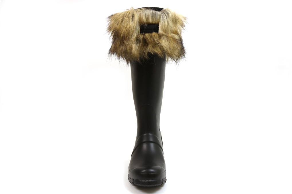 81478a10a Hunter original fake fur cuff boots socks tau knee (WOMEN S ORIGINAL FAUX  FUR CUFF BOOT ...