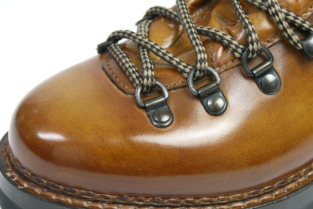 Marumo Lada mountain boots beige X brown (MARMOLADA FG105 WHISKY)
