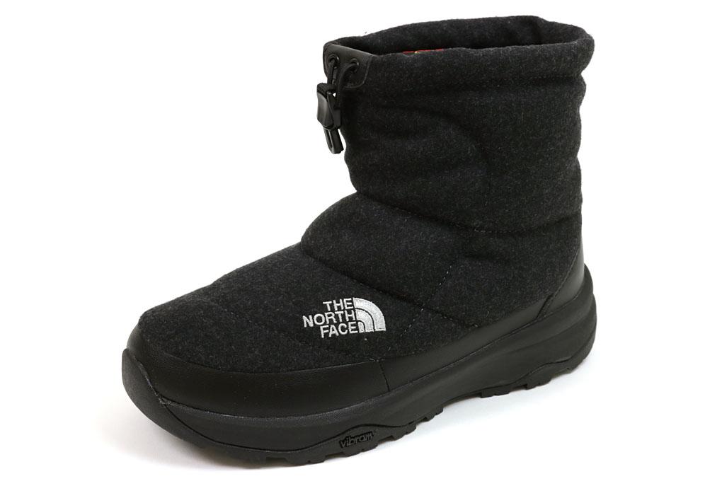 ザ・ノース・フェイス ヌプシ ブーティーウール5 ショート チャコール (THE NORTH FACE Nuptse Bootie Wool V Short NF51979 C)