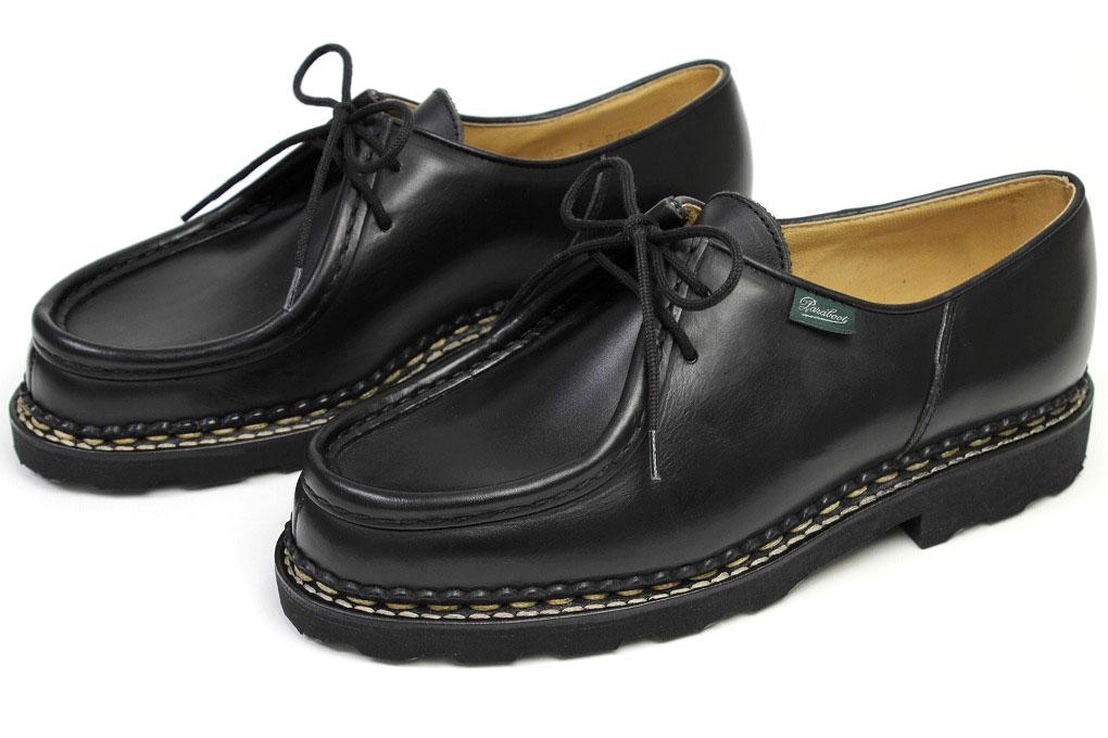 timeless design bc3e0 585e7 Para-boots Mikhail black (Paraboot MICHAEL NOIRE-LIS NOIR) ...