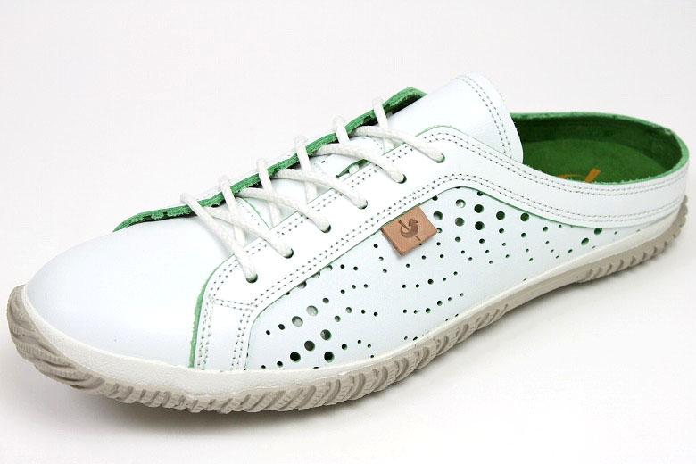 スピングルムーブ サボスニーカー 721 White x green ( SPINGLE MOVE SPM-721 White/Green ) ( スピングルムーヴ ) fs3gm