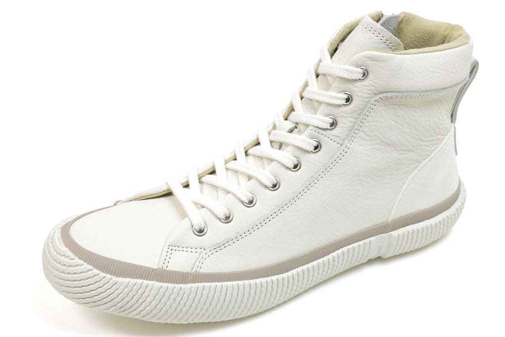 スピングルムーブ ハイカット 457 ホワイト(SPINGLE MOVE SPM-457 White)(スピングルムーヴ)