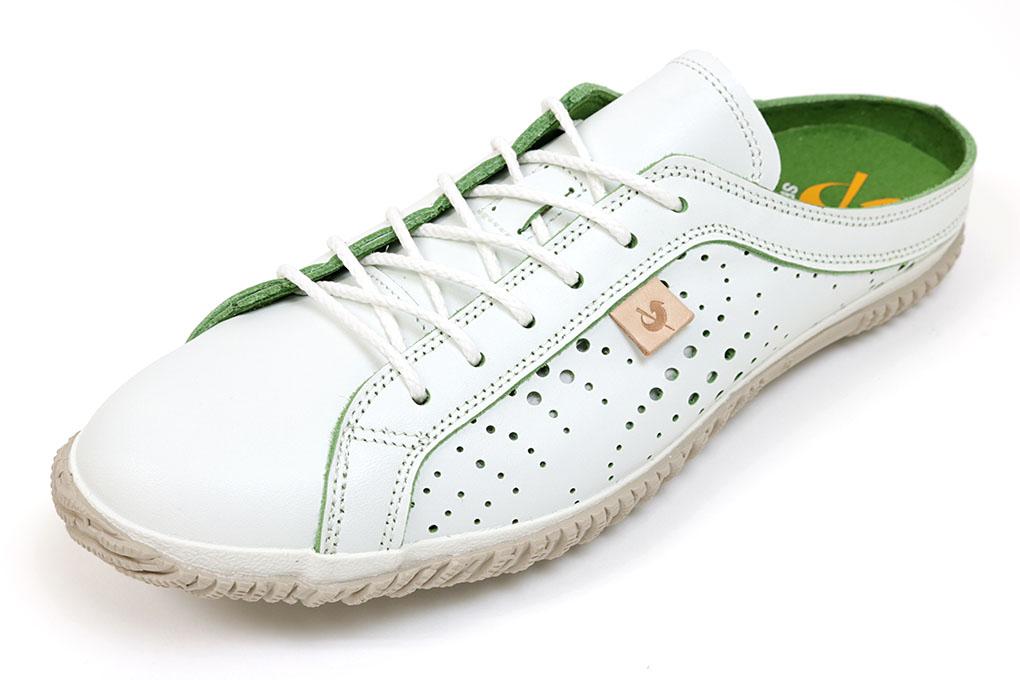 スピングルムーブ 땡 스 니 커 즈 721 화이트 * 그린 (SPINGLE MOVE SPM-721 White/Green) (스 핑 룸 브)