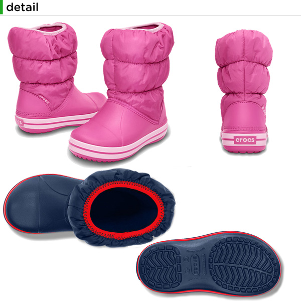 39504d4037ab0 crohas  Crocs (crocs) winter puff boots kids (winter puff boot kids ...