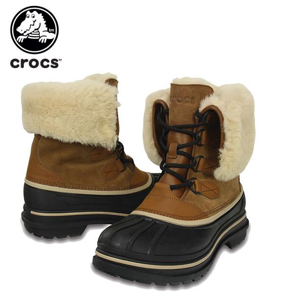 【15%OFF】クロックス(crocs) オールキャスト 2.0 ラックス ブーツ メン(allcast 2.0 luxe boot men) メンズ/男性用/ブーツ/シューズ[C/C]