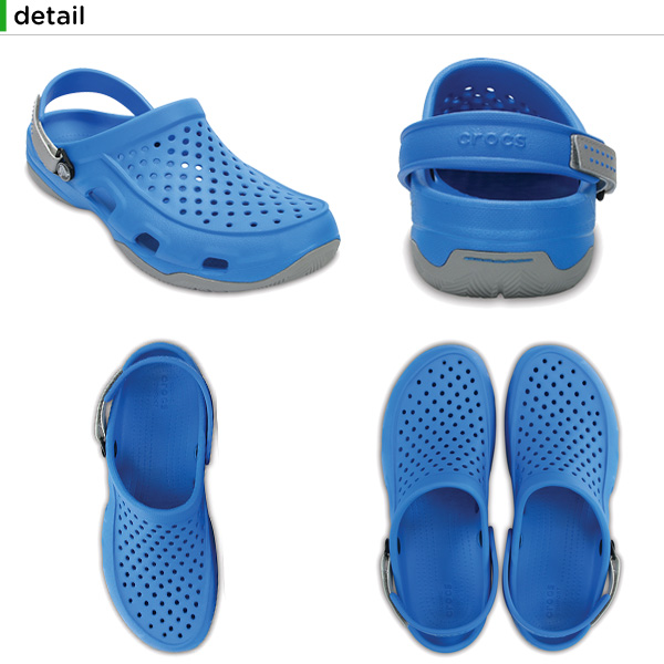 【30%OFF】クロックス(crocs) スウィフトウォーター デック クロッグ(swiftwater deck clog) メンズ/男性用/サンダル/シューズ[H][C/B]【ポイント10倍対象外】