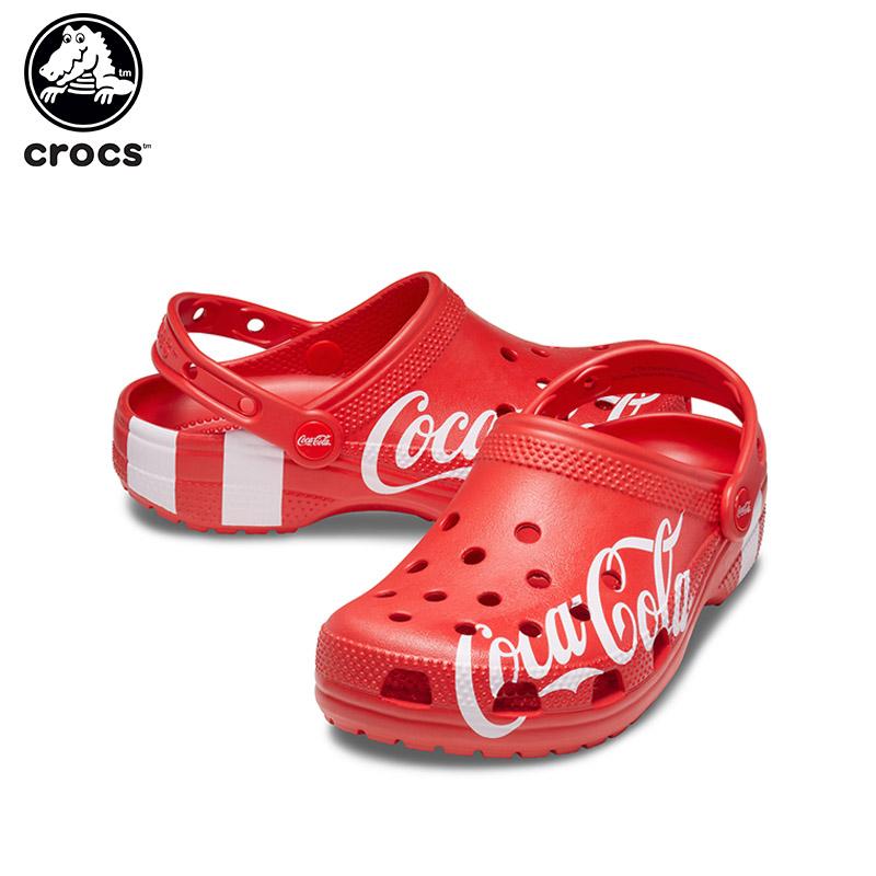 シューズ送料無料 crocs正規取扱店 20%OFF クロックス crocs コカ コーラ×クロックス クラシック 返品送料無料 クロッグ2 Coca Cola×crocs classic メンズ 2 C サンダル レディース ポイント10倍対象外 B clog シューズ 送料無料/新品 女性用 男性用