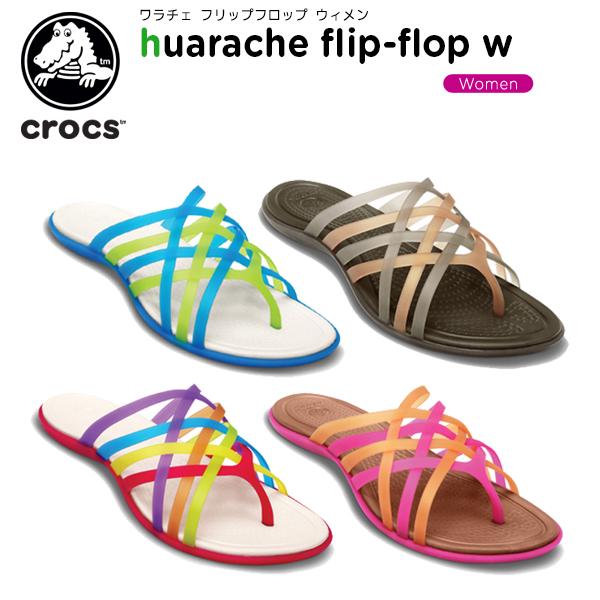 Women Huarache Flip Flops Crocs 0LReU