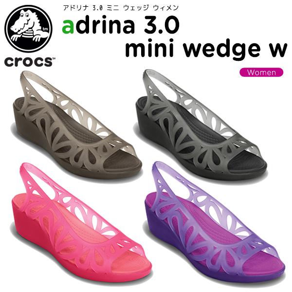c447148c704 Crocs (crocs) adrina 3.0 mini wedge women (adrina 3.0 mini wedge w)      ladies   women s   heels   shoes
