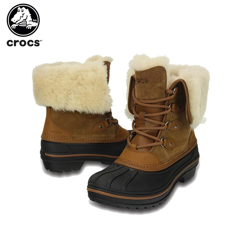 クロックス(crocs) オールキャスト 2.0 ラックス ブーツ ウィメン(allcast 2.0 luxe boot w) レディース/ブーツ[C/C]