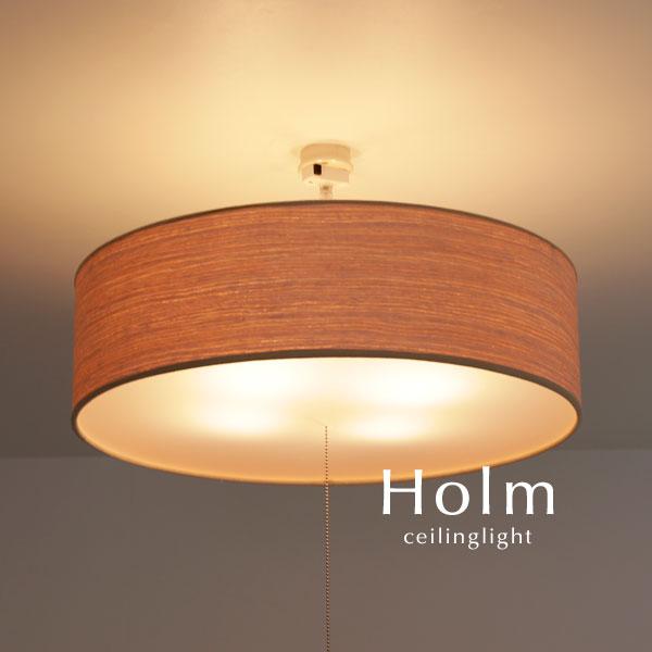 シーリングライト LED【Holm/ナチュラル】4灯 間接照明 おしゃれ 直付け リビング 木製 ウッド ダイニング デザイン 照明器具 人気