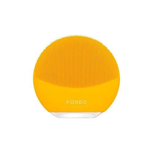 FOREO LUNA mini 3 フォレオ スマートクレンジングデバイス 電動洗顔ブラシ シリコーン製(日本正規品), サンフラワーイエロー