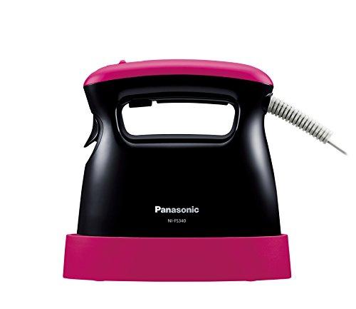 お求めやすく価格改定 パナソニック スチームアイロン ピンクブラック お気に入 NI-FS340-PK