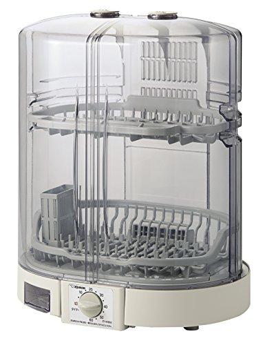 象印 食器乾燥機 縦型 80cmロング排水ホースつき ☆最安値に挑戦 公式サイト EY-KB50-HA