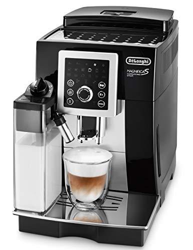 スタンダードモデル 25%OFF デロンギ DeLonghi コンパクト全自動コーヒーメーカー ブラック マグニフィカ お気に入 ECAM23260SBN スマート 自動カフェラテ カプチーノ機能 カプチーノ S