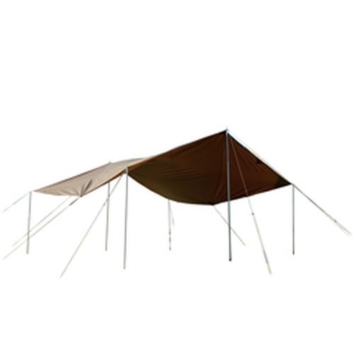 スノーピーク(snow peak) HDタープ シールド スクエアエヴォ Pro. /TP-251 (snowpeak) |アウトドア アウトドア用品 アウトドアー 用品 アウトドアグッズ キャンプ キャンプ用品