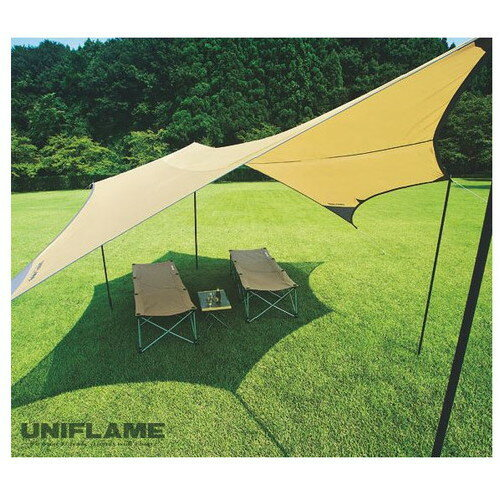 ユニフレーム(UNIFLAME) REVO タープ L |アウトドア アウトドア用品 アウトドアー 用品 アウトドアグッズ キャンプ キャンプ用品