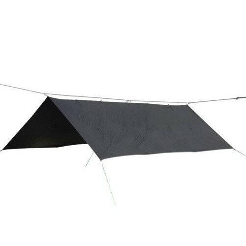 ブッシュクラフト オリガミタープ ORIGAMI TARP 4.5*3 ブラックステッチ 400×290cm (Bush Craft) |アウトドア キャンプ アウトドア用品 キャンプ用品 キャンプグッズ アウトドアグッズ おしゃれ バーベキュー bbq 日よけ 日除け シェード サンシェード タープ タープテント