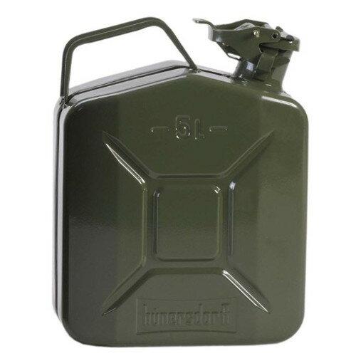 HUNERSDORFF ヒューナスドルフ MetalKanister OUTLET SALE 高級な オリーブ CLASSIC 5L