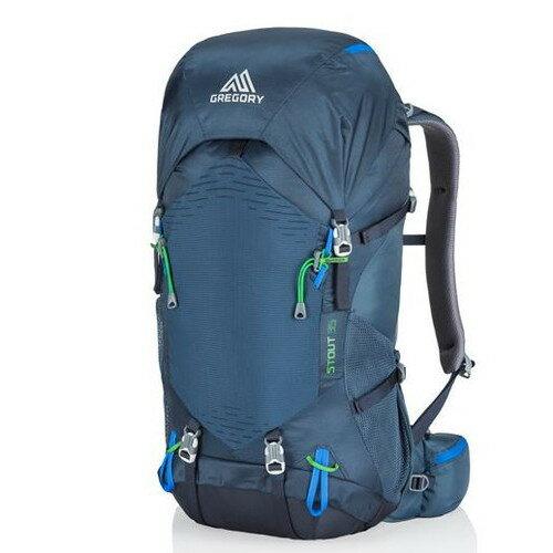 グレゴリー スタウト35 ネイビーブルー (GREGORY) | リュック ザック バックパック 大容量 登山 アウトドア キャンプ おしゃれ