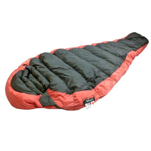 ナンガ オリジナルシュラフ オーロラライト 350STD (BLK/RED) レギュラー | シュラフ マミー ダウン 寝袋 スリーピングバッグ 寝具 防災グッズ アウトドア キャンプ 登山 おしゃれ