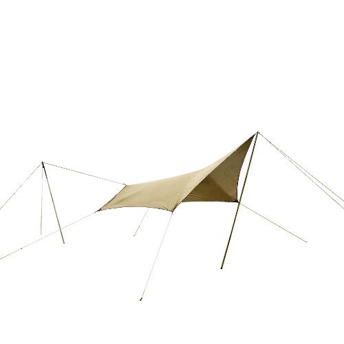 (CAMPAL JAPAN)キャンパルジャパン システムタープ ペンタ 3×3   アウトドア キャンプ アウトドア用品 キャンプ用品 キャンプグッズ アウトドアグッズ おしゃれ タープ ヘキサ ウイング型