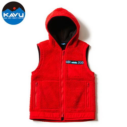 カブー(KAVU) Shasta Vest Red XS